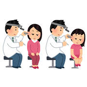 耳鼻科での診察
