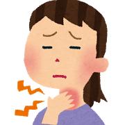 咽喉頭異常感症(ヒステリー球)の女性
