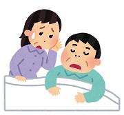 睡眠時無呼吸症候群の男性
