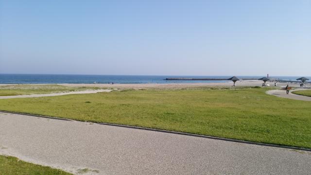 田原市赤羽根海岸風景