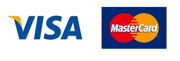 クレジットカード VISA  MasterCard