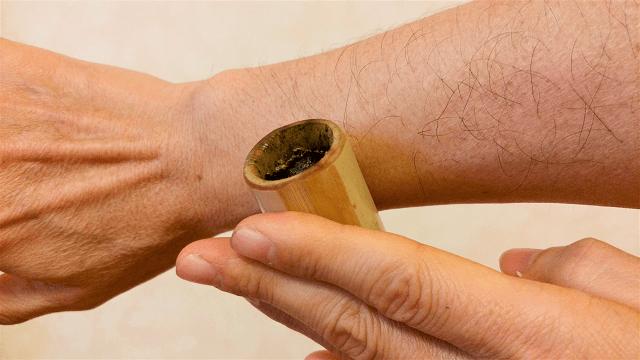 竹の輪灸2