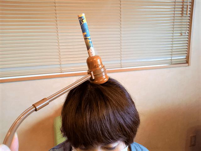 器具を使った棒灸